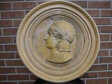 Alexander the Great releif wall stone sculpture home decor coin