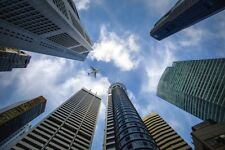 Papel tapiz de descarga digital 4K Foto de Fondo subasta centavo 1p-rascacielos