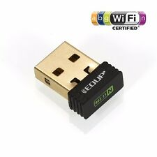 Edup Mtk7601 2.4G 802.11n 150Mbps Wireless WiFi Usb Nano Adapter Win Mac Linux
