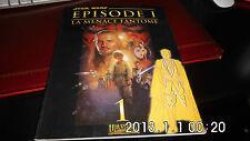 ALBUM BD STAR WARS EPISODE 1 LA MENACE FANTOME NO 1 & 48 PAGES DE 1999