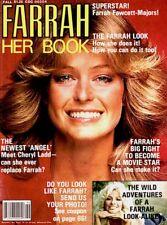 Farrah Fawcett Magazine 1977 Her Book Centerfold Majors Charlie's Angels COA