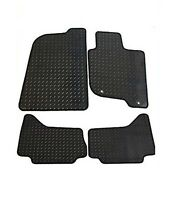 MITSUBISHI L200 DOUBLE CAB 2006 ONWARDS TAILORED RUBBER CAR MATS