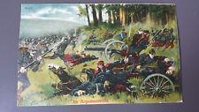 Postkarte Gefecht: Im Argonnenwald (j)