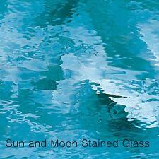Spectrum Glass Sheet S533-1W - Sky Blue Waterglass Stained Glass Sheet (8X10)