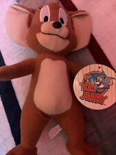 "Tom & Jerry Jerry The Mouse Plush 13"" Toy Factory 2016 Rare"