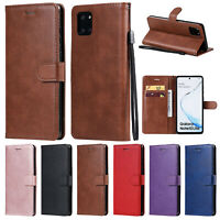 For Samsung Galaxy A21S M31 A70E Case Wallet Leather Card Slots Stand Flip Cover