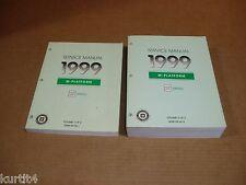 1999 Chevrolet Metro shop service repair dealer manual SET
