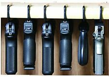Handgun Organize 6 Hangers Gun Storage Pack Vinyl Coated Safe Room Accessories