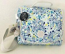 Kipling Kichirou Lunch Bag Box Delicate Vines Nylon School Crossbody Bag NWT