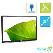 "LG FLATRON E2210T 22"" Widescreen 1680x1050 16:10 DVI VGA Monitor ONLY - Grade B"
