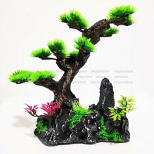 Aquarium Rockery Tree Ornament Decoration For Fish Tank Landscape Stone Rocks