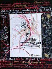 Tableau,original, peinture, decoration, graphisme, hommage à picasso