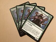 MTG Modern Horizons X4 Llanowar Tribe NM/Mint (Magic/MTG)