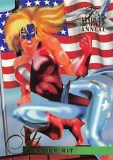 FREE SPIRIT / 1995 Fleer Flair Marvel Annual BASE Trading Card #109