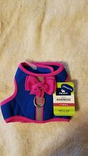 Top Paw Padded Vest Harness with Bow, reflective strip - NWT - XS