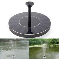 200L/H 1.4W Solar Teichpumpe Springbrunnen Pumpe für Garten Swimmingpool Teich