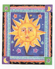 CELESTIAL  SUN   16 X 20 INCH ART PRNT  POSTER