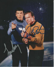 Star Trek Leonard Nimoy I Am Spock William Shatner Signed Autographed Photo Rp