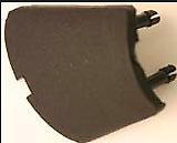 Couvercle retroviseur gauche Austin Mini Rover LH left cover mirror cap black