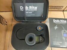 Dab Rite Digital Infrared Thermometer Black Open Box