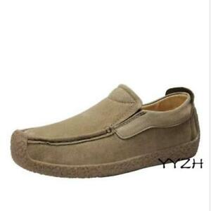 Men Pumps Slip on Loafers Shoes Driving Moccasins Flats Breathable Comfort Shoes