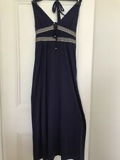 Purple Grecian style jersey beach/maxi dress, Monsoon, size medium