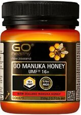 NEW ZEALAND GO Healthy GO Manuka Honey UMF 16+ ( MGO 570+ NPA 16+)  250g