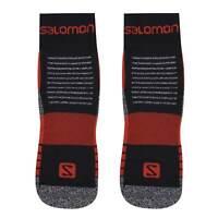 Salomon Mens Merino Low 2 Pack Walking Socks Boot Mesh Outdoor Arch Support