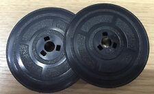 SMCO OLIVETTI BLACK/RED TYPEWRITER RIBBON: Olivetti M44, 132, Olivetti Valentine