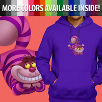 Alice Wonderland Cheshire Cat Disney Unisex Pullover Sweatshirt Hoodie Sweater