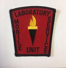 Mobile Service Laboratory Unit Cloth Patch