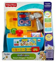 """Fisher Price """"Laugh and Learn Smart Stages"""" Toolbox"""