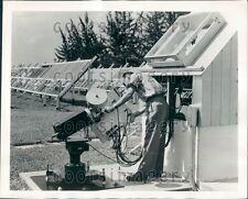1956 Sunshine Spectrum Recorder Florida Test Field General Motors Press Photo
