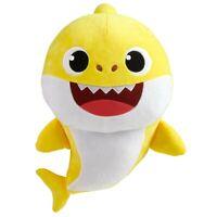 "Pinkfong Baby Shark Plush Stuffed Musical Toy 18"" NEW"