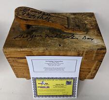 "Goodfellas Henry Hill Signed Shoe Shine Box ""Get your F**king Shine Box"""