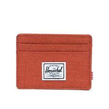 Herschel Charlie RFID Wallet Credit Card Case Picante Crosshatch