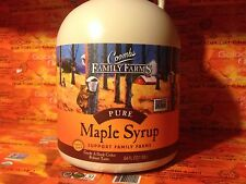 1 Half Gallons Coombs, Maple Syrup, Grade A Dark Color Robust Taste 64 Oz