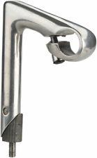 Kalloy Road Quill Stem: 25.4 x 80mm, 150mm, Silver