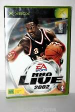 NBA LIVE 2002 GIOCO NUOVO XBOX EDIZIONE UK RETROCOMPATIBILE XBOX 360 GS1