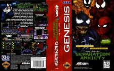 Separation Anxiety Sega Mega Drive Replacement Box Art Case Insert Reproduction