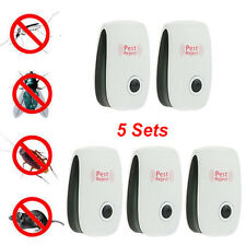 5x Ultrasonic Electronic Anti Mosquito Pest Bug Insect Cockroach Propeler Reject