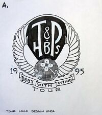 Tom Petty & the Heartbreakers Original Alternate Dogs With Wings tour logo
