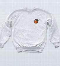 Peachy Badge Sweatshirt Indie Retro Beach Bum UNISEX Jumper Funny Skater