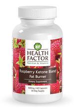 Health Factor Raspberry Ketone Blend, Fat Burner (1 Bottle)