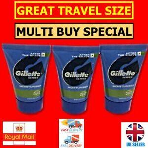 Gillette Series Tube Moisturiser with Aloe Vera - 15ml Handy Travel Size!