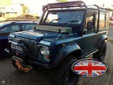 Condado de Land Rover Defender 90 110 3D Cromo Swoosh volver detrás Insignia Letras