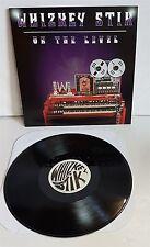 Whizkey Stik On The Level LP Black Vinyl Record new US indie hard rock