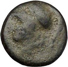 Syracuse in Sicily under Agathocles 305BC Athena Thundebolt Greek Coin  i52021