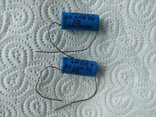 NOS Vintage DALY 4uF 350v capacitor 2 x PIECES