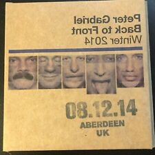 Peter Gabriel - Encore Series LIVE 2CD - Aberdeen , UK 08/12/2014
